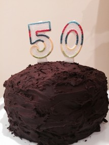 Keith - 50th Cake